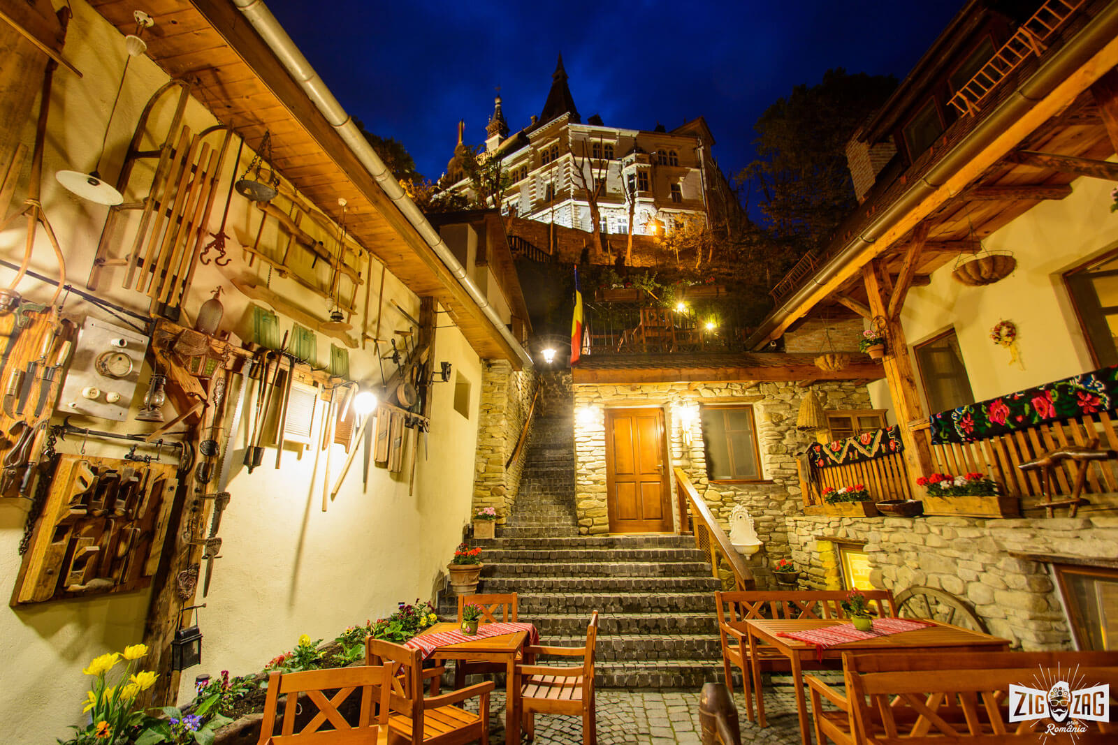 Savri House, a reminiscence of medieval legendary times